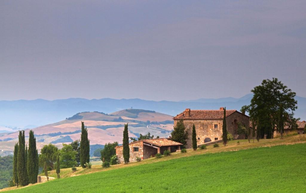 -landschap Siena Toscane