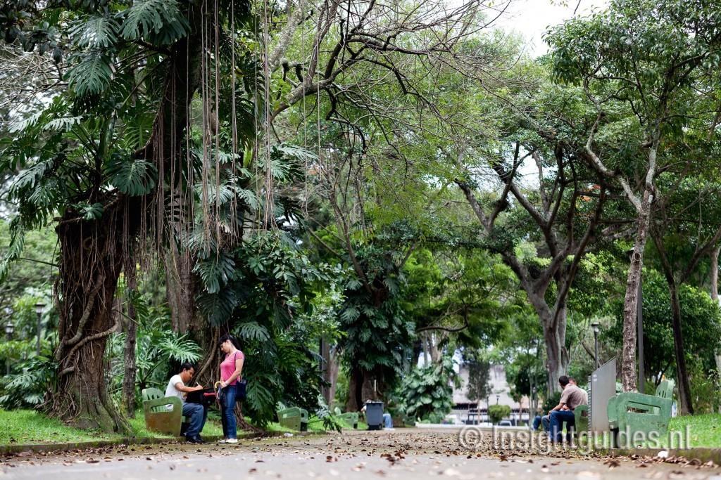 park in San José